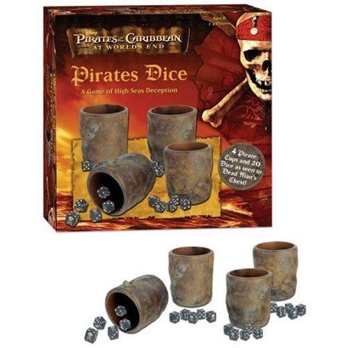 Pirates of Caribbean Dice Game