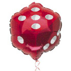 Red Dice Balloon