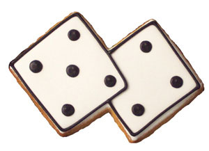 Dice cookie