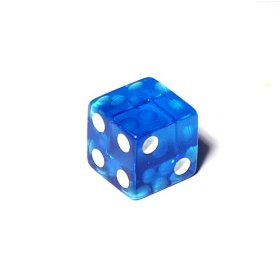 One Side Blank Dice