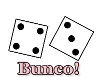 Bunco Dice