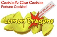 Cookie Fu Clan Cookies