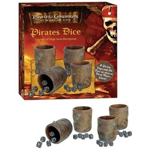Pirates of Caribbean Dice Game