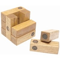 Wooden Dice Puzzle